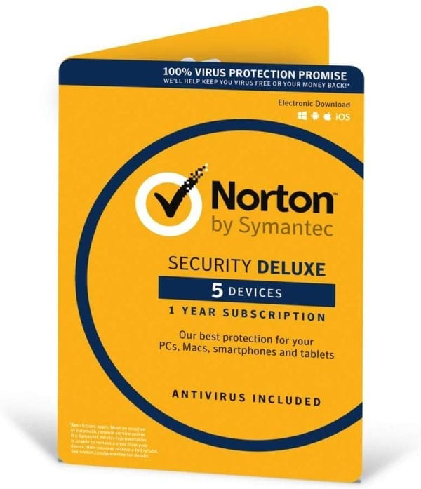 Norton Security Deluxe 5 laitetta